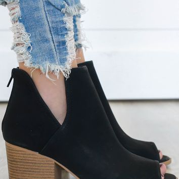 She's Got It Booties - Black