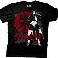 Naruto Shippuden Itachi Symbols Anime Cartoon Cotton Adult T Shirt
