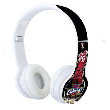 Cleveland Cavs James Headphones 2017