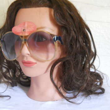Vintage Oscar de la Renta Oversize Sunglasses Designer Sunglasses Big Sunglasses Large Sunglasses Women Sunglasses 80s Sunglasses Hipster