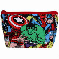 NEW Makeup Bag | Makeup Pouch | Marvel | Avengers | Zippered Pouch | Zipper Bag | Cosmetic Case