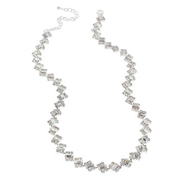 Baguette Crystal Necklace