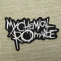 My Chemical Romance (B) Iron On Patch Emo Goth Punk Rock