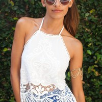 Coachella Top White - New Arrivals