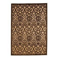 Pier 1 Imports - Product Detail - Brown Scroll Indoor/Outdoor Rug