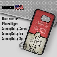 Samsung S7 Case - Pokedex Quotes Pokemon- iPhone Case #SamsungS7Case #Pokemon #yn