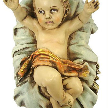 Baby Jesus Nativity Statue - Statue Depicts Baby Jesus In The Manger, And Is A Must Have For Any Nativity
