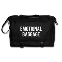 """EMOTIONAL BAGGAGE"" Messenger Bag"