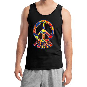 Funky Peace Sign Tank Top