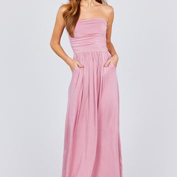 Only Love Maxi Dress - Rose