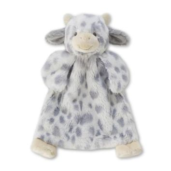 Demdaco NNLO Miggy Cow Blankie and Pacifier Holder