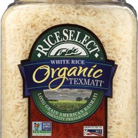 RICESELECT: Organic Texmati White Rice, 32 oz
