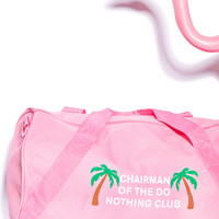 Danielle Guizio Chairman Of The Nothing Club Duffle Bag Baby Pink One