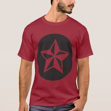 NEW Star #454: Men's Basic Dark T-Shirt