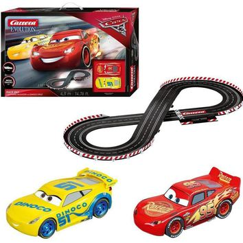 Carrera Evolution Disney·Pixar Cars 3 Race Day 25226 Slot Car Racing Race Set