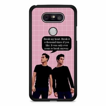 Dolan Twins Quotes Ethan Grayson LG G5 Case