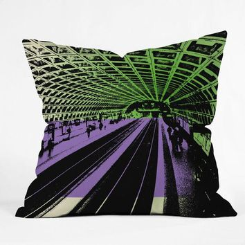 DC Metro Throw Pillow