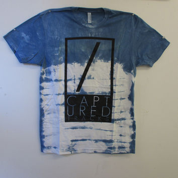 CAPTURED TRACKS // DYED LOGO T-SHIRT