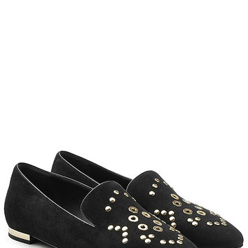 Burberry Shoes & Accessories - Embellished Suede Slippers