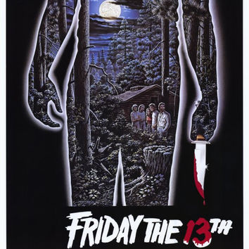 Friday the 13th 11x17 Movie Poster (1980)