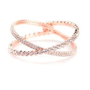 Banded By Love Bracelet - Rose Gold