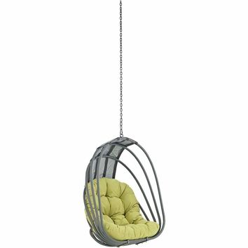 Whisk Outdoor Patio Swing Chair Without Stand, Peridot