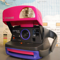 Polaroid Spice Cam 600 Instant Film Camera