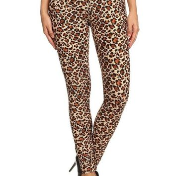 Wild About Leopard Print Leggings