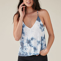 Me To We Tie-Dye V-Neck Knit Racerback Tank Top at PacSun.com