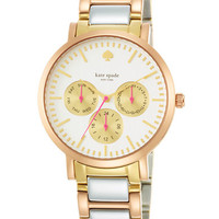 Kate Spade New York Ladies' Tri-Tone Gramercy Grand Watch
