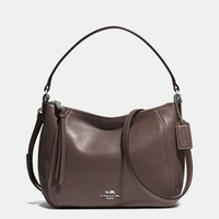 MADISON TOP HANDLE IN LEATHER