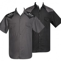 Steady Clothing Wrenched Western Shirt