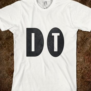DO IT Typography T Shirt - Clothing for women, men and children