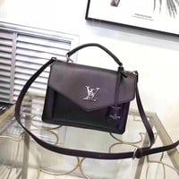 LV Women Leather Shoulder Bag Satchel Tote Bag Handbag Shopping Leather Tote Crossbody Satchel Shoulder Bag