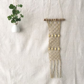 Macrame wall hanging Hemp rope wall decor Wall hanging Hemp rope wall hanging Wall art Modern macrame Eco wall hanging Eco wall decor Wood