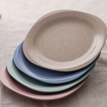 Eco-Friendly Small Dinner Plates