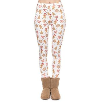 Christmas Gingerbread - Women's Leggings