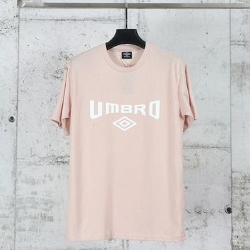 HCXX FIFA Umbro Short Sleeved T-Shirt Pink