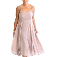 Dance With Me Dress In Mauve