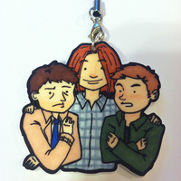 Supernatural Team Free Will Keychain