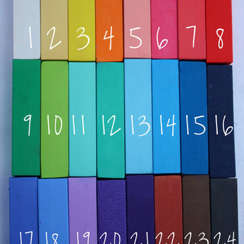 Two Premium Salon Grade Hair Chalk Stick - Choose Your Colors - Temporary Pastels