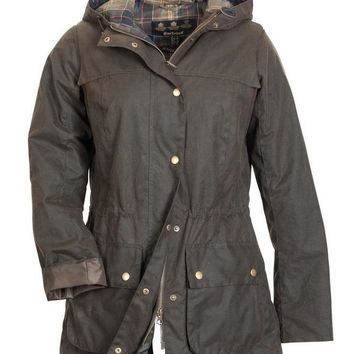 Barbour Winter fashion trend plus velvet down jacket/S-XXXL/brown