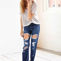 BDG Straight-Leg Jean - Camp Indigo- Vintage Denim Dark