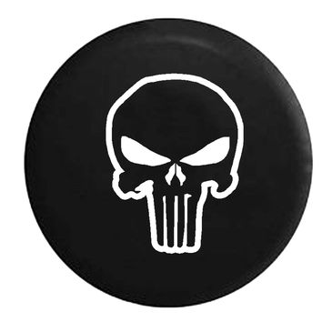 Punisher Skull Ghost Shadow American Sniper Edition , Jeep, RV, Camper, Spare, Tire, Cover