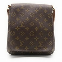 Louis Vuitton Monogram Musette Salsa Shoulder Bag Brown M51258 0479