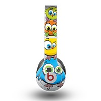 The Tower of Highlighted Cartoon Birds Skin for the Beats by Dre Original Solo-Solo HD Headphones