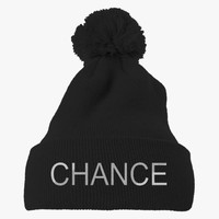 Chance The Rapper Embroidered Knit Pom Cap