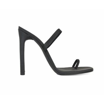 Barely there Mule - Black