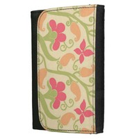 Elegant Paisley And Floral Pattern Women's Wallet