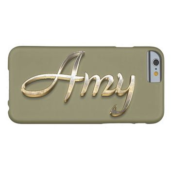 """""""Amy"""" Custom Monogram iPhone 6/6s Case Barely There iPhone 6 Case"""
